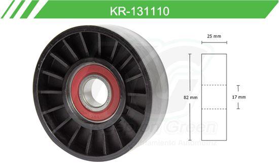 Imagen de Poleas de Accesorios y Distribución KR-131110