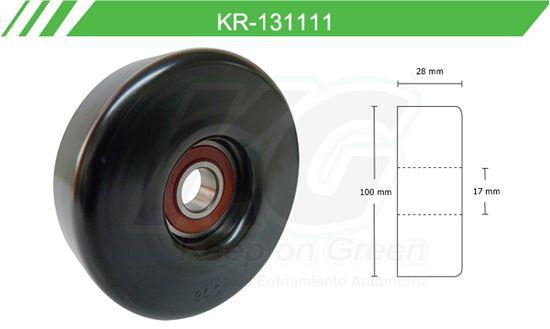 Imagen de Poleas de Accesorios y Distribución KR-131111