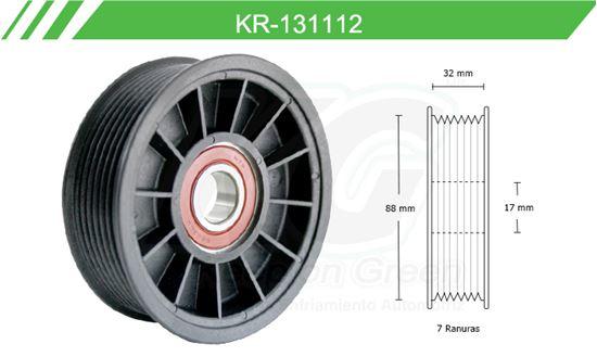 Imagen de Poleas de Accesorios y Distribución KR-131112