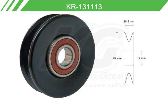 Imagen de Poleas de Accesorios y Distribución KR-131113