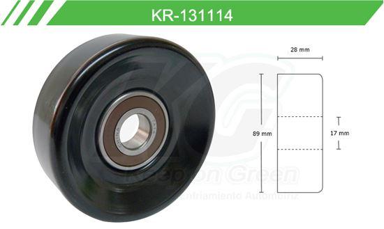 Imagen de Poleas de Accesorios y Distribución KR-131114