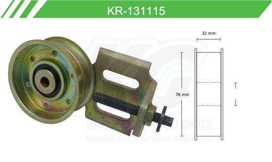 Imagen de Poleas de Accesorios y Distribución KR-131115