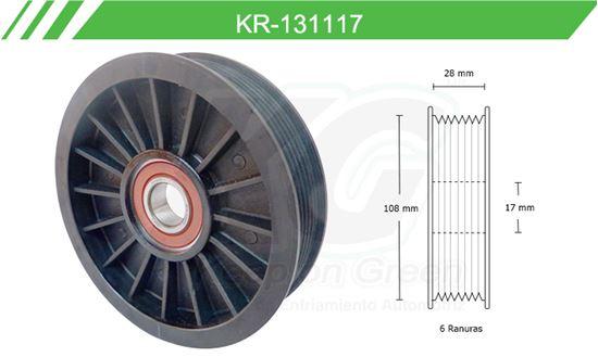 Imagen de Poleas de Accesorios y Distribución KR-131117