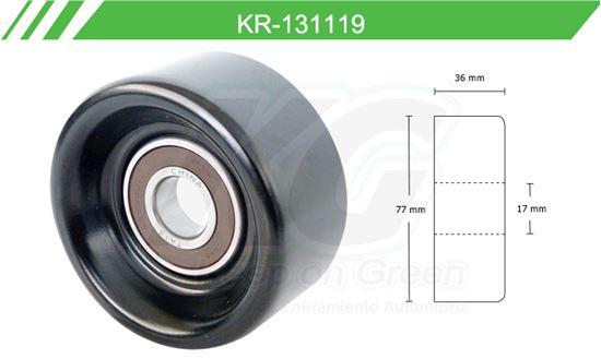 Imagen de Poleas de Accesorios y Distribución KR-131119