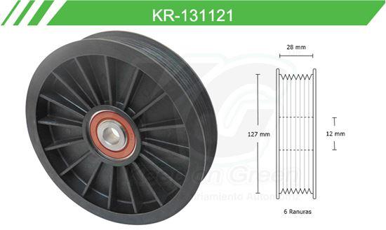 Imagen de Poleas de Accesorios y Distribución KR-131121