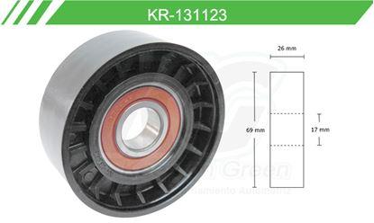 Imagen de Poleas de Accesorios y Distribución KR-131123