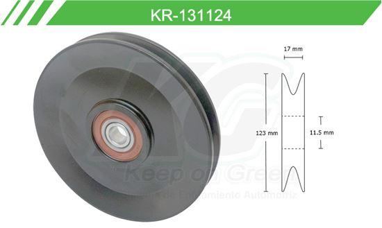 Imagen de Poleas de Accesorios y Distribución KR-131124