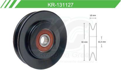 Imagen de Poleas de Accesorios y Distribución KR-131127