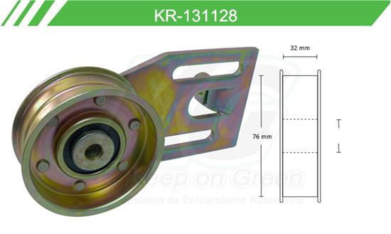 Imagen de Poleas de Accesorios y Distribución KR-131128