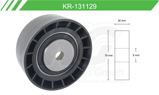 Imagen de Poleas de Accesorios y Distribución KR-131129