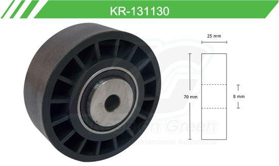 Imagen de Poleas de Accesorios y Distribución KR-131130