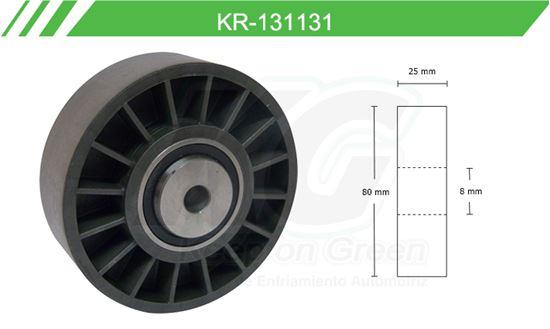 Imagen de Poleas de Accesorios y Distribución KR-131131