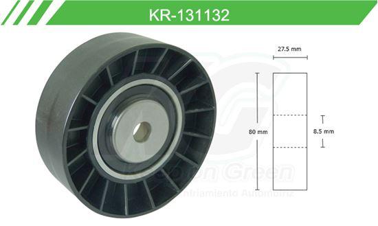 Imagen de Poleas de Accesorios y Distribución KR-131132