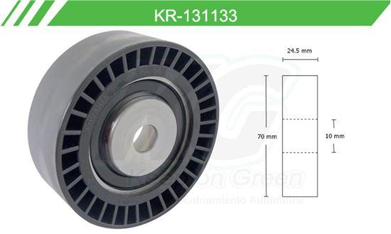 Imagen de Poleas de Accesorios y Distribución KR-131133
