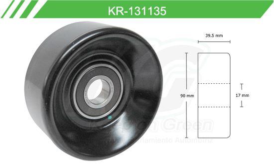 Imagen de Poleas de Accesorios y Distribución KR-131135