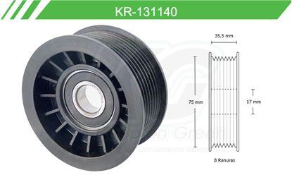 Imagen de Poleas de Accesorios y Distribución KR-131140
