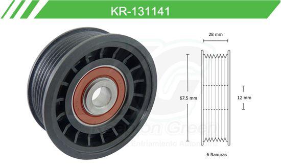 Imagen de Poleas de Accesorios y Distribución KR-131141