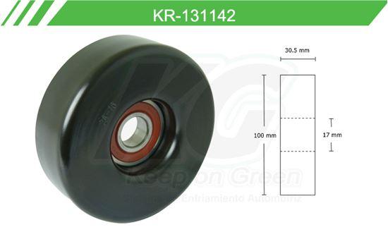 Imagen de Poleas de Accesorios y Distribución KR-131142