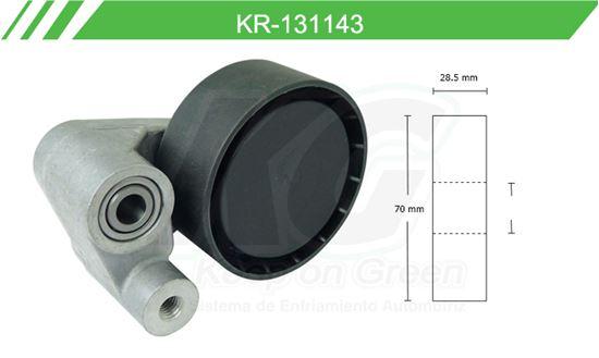 Imagen de Poleas de Accesorios y Distribución KR-131143
