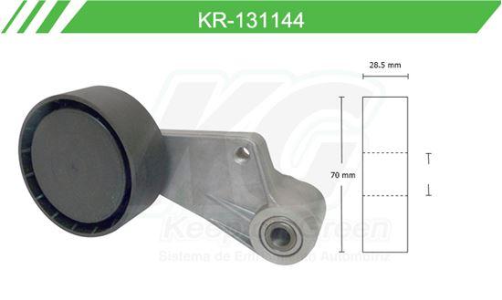 Imagen de Poleas de Accesorios y Distribución KR-131144