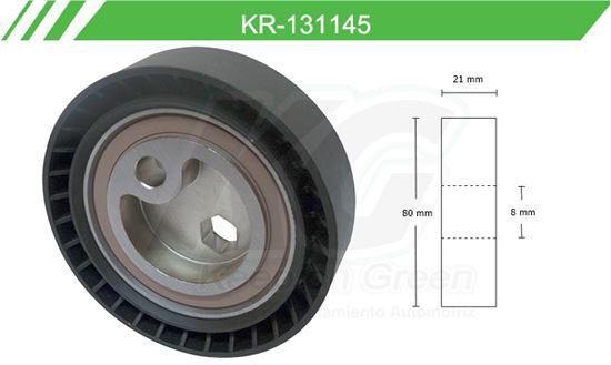 Imagen de Poleas de Accesorios y Distribución KR-131145