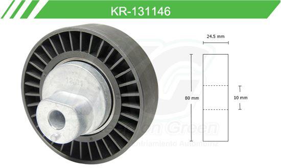 Imagen de Poleas de Accesorios y Distribución KR-131146