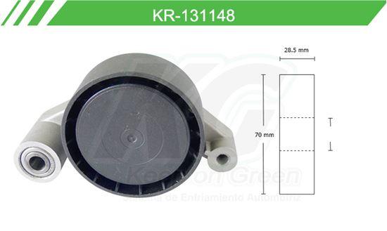 Imagen de Poleas de Accesorios y Distribución KR-131148