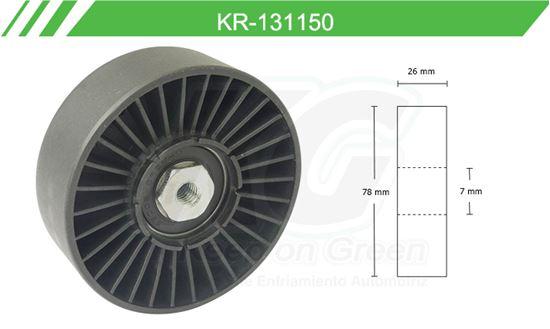 Imagen de Poleas de Accesorios y Distribución KR-131150