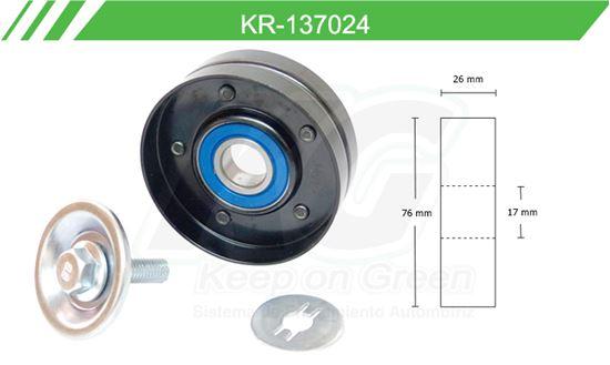 Imagen de Poleas de Accesorios y Distribución KR-137024