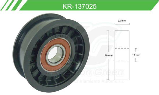 Imagen de Poleas de Accesorios y Distribución KR-137025