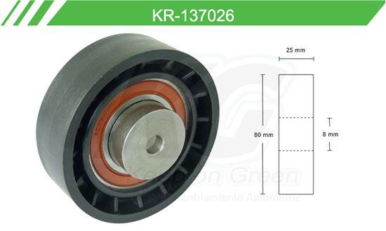 Imagen de Poleas de Accesorios y Distribución KR-137026