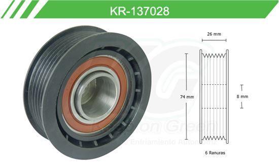 Imagen de Poleas de Accesorios y Distribución KR-137028