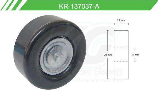 Imagen de Poleas de Accesorios y Distribución KR-137037-A