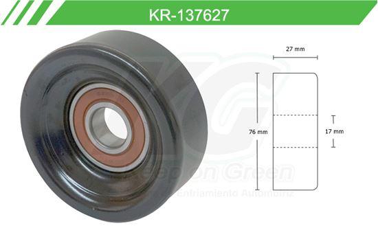 Imagen de Poleas de Accesorios y Distribución KR-137627