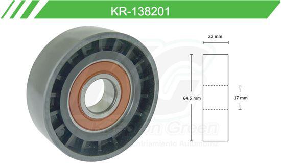 Imagen de Poleas de Accesorios y Distribución KR-138201