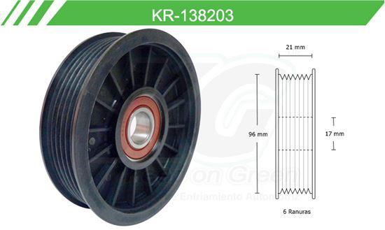 Imagen de Poleas de Accesorios y Distribución KR-138203