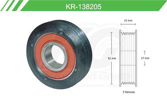 Imagen de Poleas de Accesorios y Distribución KR-138205