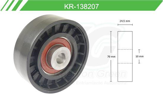 Imagen de Poleas de Accesorios y Distribución KR-138207