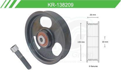 Imagen de Poleas de Accesorios y Distribución KR-138209