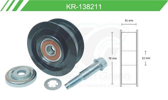 Imagen de Poleas de Accesorios y Distribución KR-138211