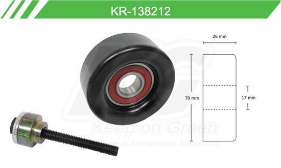 Imagen de Poleas de Accesorios y Distribución KR-138212
