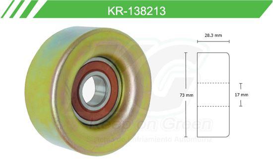 Imagen de Poleas de Accesorios y Distribución KR-138213