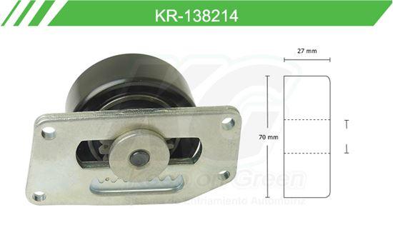 Imagen de Poleas de Accesorios y Distribución KR-138214