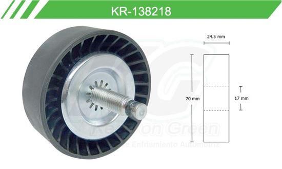Imagen de Poleas de Accesorios y Distribución KR-138218