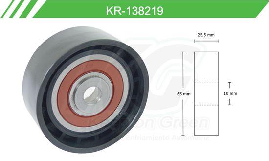 Imagen de Poleas de Accesorios y Distribución KR-138219