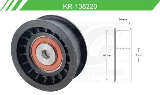 Imagen de Poleas de Accesorios y Distribución KR-138220