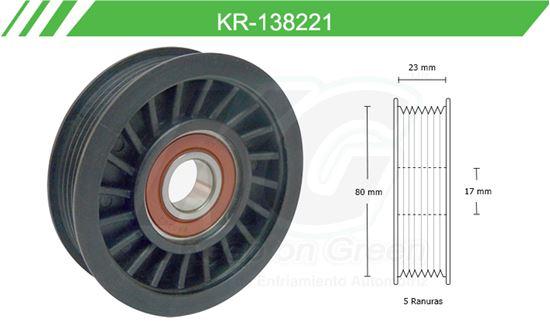 Imagen de Poleas de Accesorios y Distribución KR-138221
