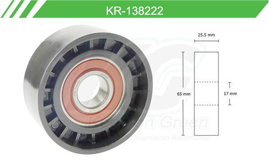 Imagen de Poleas de Accesorios y Distribución KR-138222
