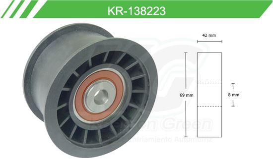Imagen de Poleas de Accesorios y Distribución KR-138223
