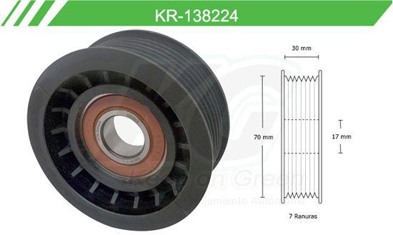 Imagen de Poleas de Accesorios y Distribución KR-138224